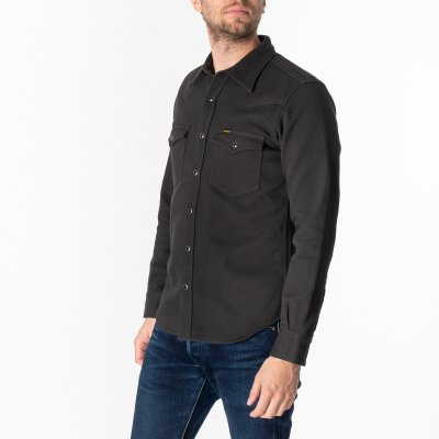Kersey Western Shirt - Dark Grey
