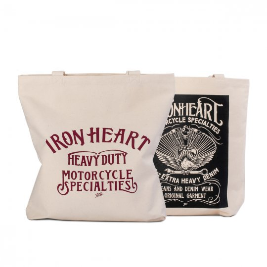 IHE-34 - Printed Canvas Tote Bag