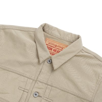 12oz Selvedge Chino Type II Jacket – Beige