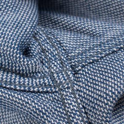 5oz Indigo Cotton Linen Western Shirt
