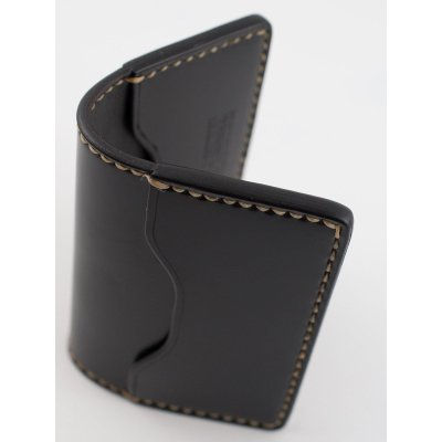 Shell Cordovan Credit Card Holder