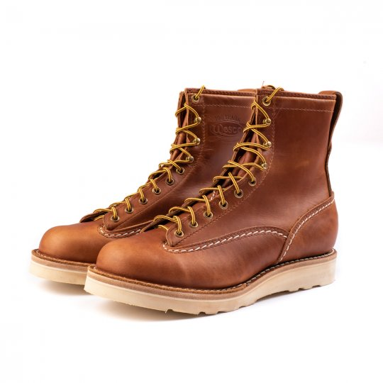 Iron Heart Int'l x Wesco® - British Tan Domain Jobmaster