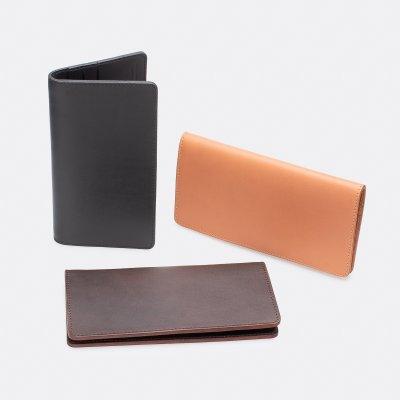 OGL Kingsman Coat Long Wallet - Black, Brown or Tan