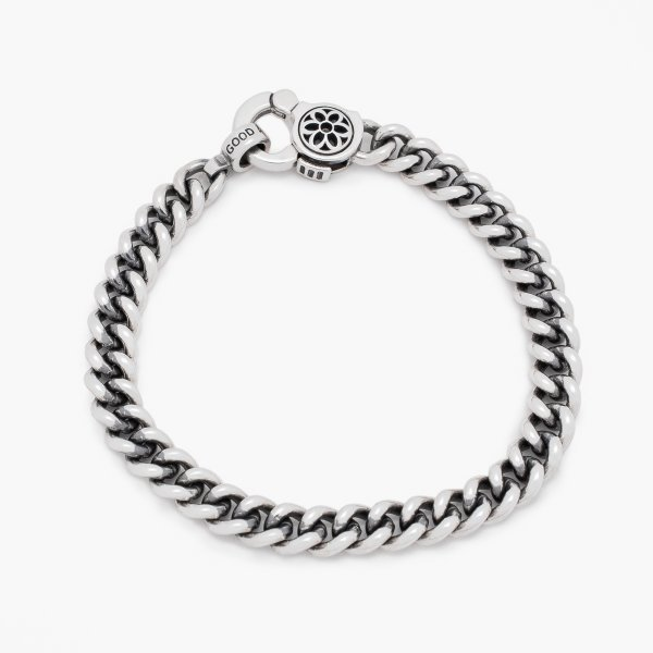 GOOD ART HLYWD Curb Chain No.4 Bracelet - Sterling Silver
