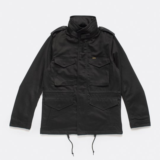 Sateen M-65 Field Jacket - Black