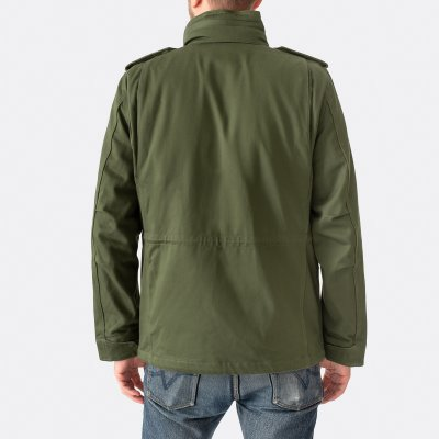 Sateen M65 Field Jacket - Olive