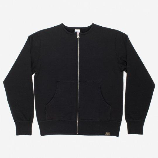 Black Ultra Heavy Zippered Sweater