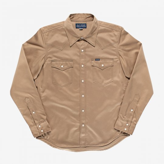 11oz West Point Western Shirt – Beige