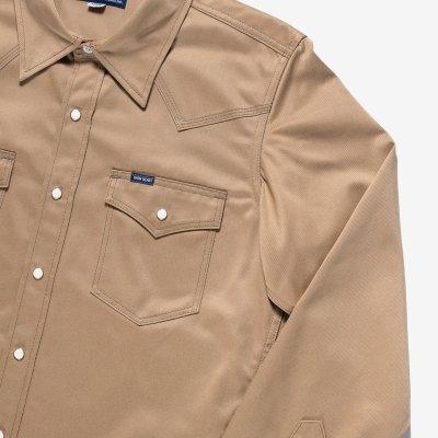 11oz West Point Western Shirt – Beige