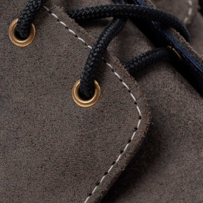 Iron Heart Int'l x Wesco® - Chukka Boot - Roughout Charcoal