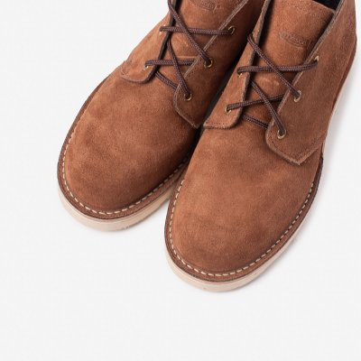 Iron Heart Int'l x Wesco® - Chukka Boot - Brown Roughout