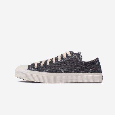 21oz Denim Low-Top Sneakers - Indigo