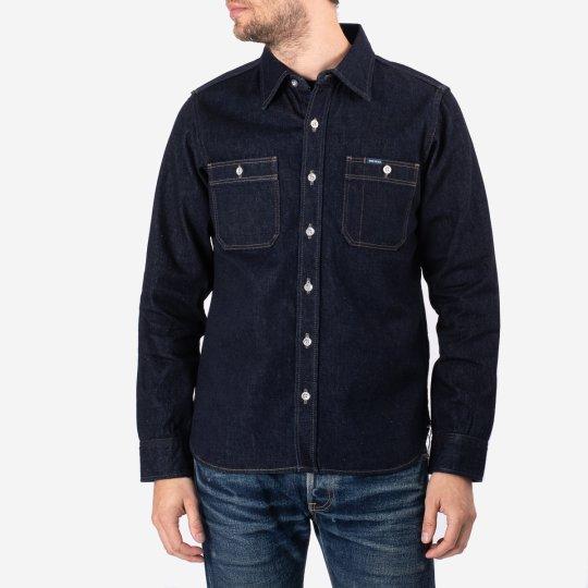 Indigo 12oz Selvedge Denim Work Shirt