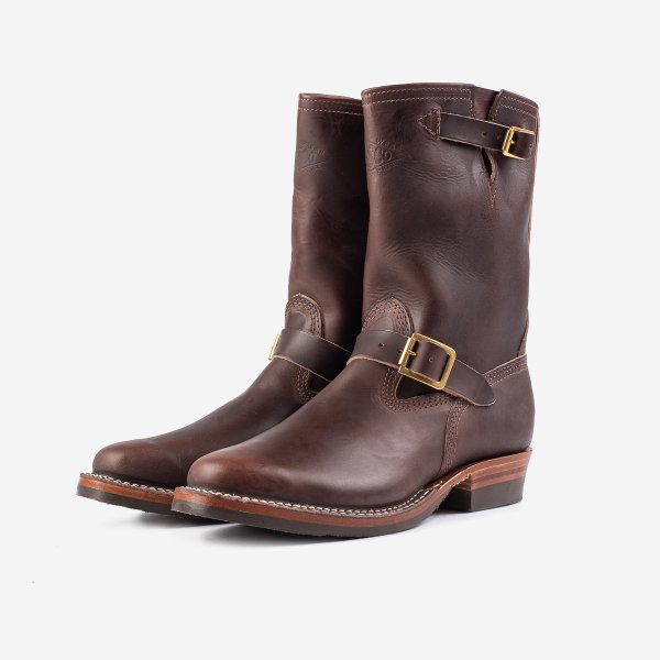 "Wesco® - 10"" Chromexcel Steerhide Engineer Boot - Brown. The ""Mister Lou"""