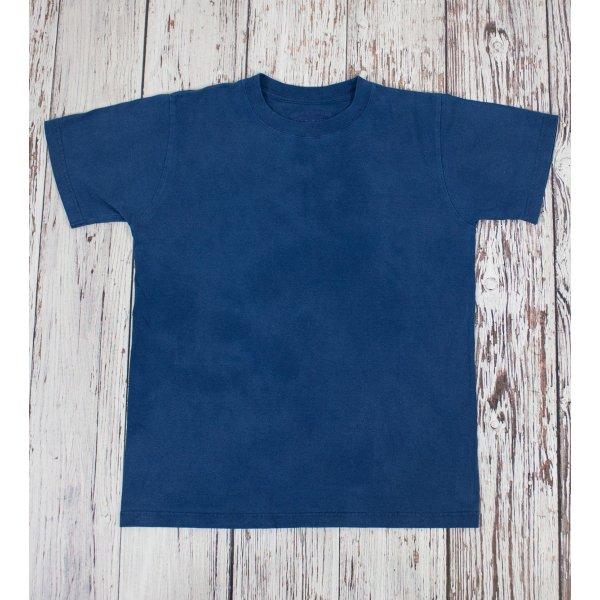 Plain TW White & Indigo Dyed 5.5oz Loopwheeled T-Shirt 2014 Version