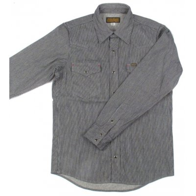 Hairline Hickory Western Shirt