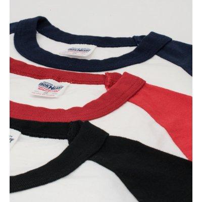 IHTL-1508 - 3/4 Sleeve Loopwheel Baseball T-Shirts